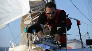 Fabrice Amadeo skipper de Géodis Excellia