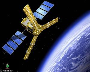 Le satellite SMOS vue artiste
