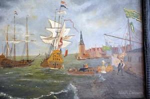 Tableau de la Bataille de Grand Port