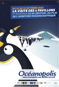 Affiche 10 ème Festival Film Aventure Océanographique