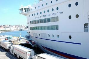 Un des bateaux de Brittany Ferries