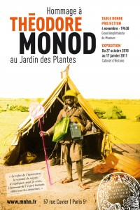 Affiche de l'exposition Th.Monod