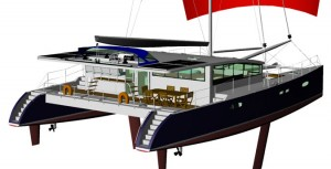 Catamaran Mayric Y. Kinard Yatch Design