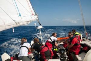 L'équipage de Défi Intégration, cap sur l'Ile Maurice