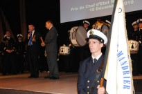 La cérémonie du Prix du CEMM au nautic le 10 décembre 2010 @A.Cassim