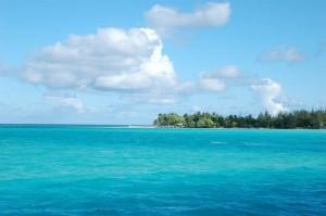 Mer trurquoise pour de belles navigations en Polynésie