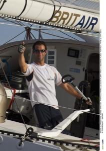 Britair Skipper Armel Le Cléach (@RR)