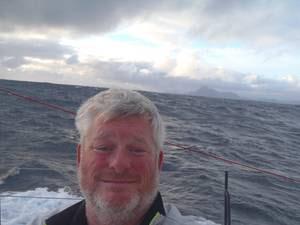 Brad Van Liew au passage du cap Horn