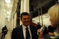 Le ministre de la santé et de l'écologie en charge de l'environnement et de la prévention des risques sanitaires, Nicolas Bertholon