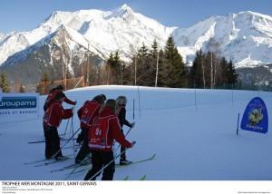 Départ du biathlon  @Pascal Alemany / ODT St-Gervais