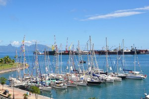 Tahiti-Yachts In Harbour rallye Blue Water @S. RENARD