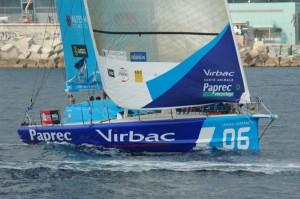 Virbac Paprec au départ de l'Istambul Europa Race @A.Cassim