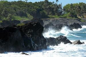 Côte NE du côté de Ste Suzanne Ile de la  Réunion @A.Cassim