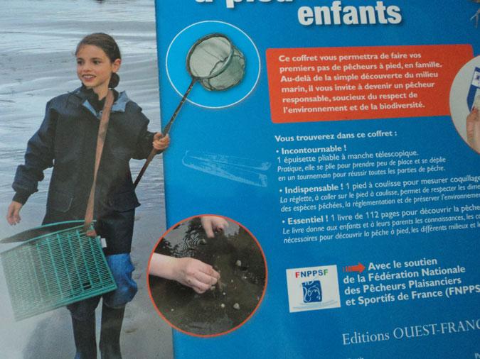 PECHE A PIED (COFFRET Editions OUEST-FRANCE)