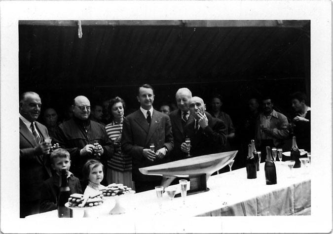 1958-Chantier Hervé  -  Le Marie-Christine III- archives du MM La Rochelle