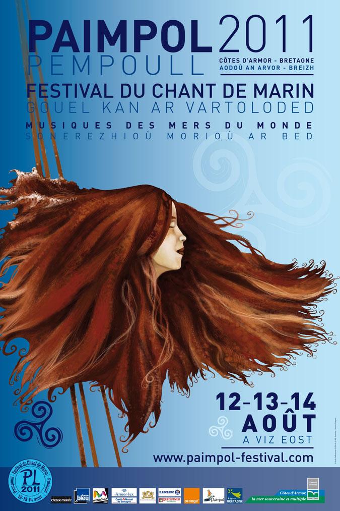 Affiche Festival Chant de marin Paimpol