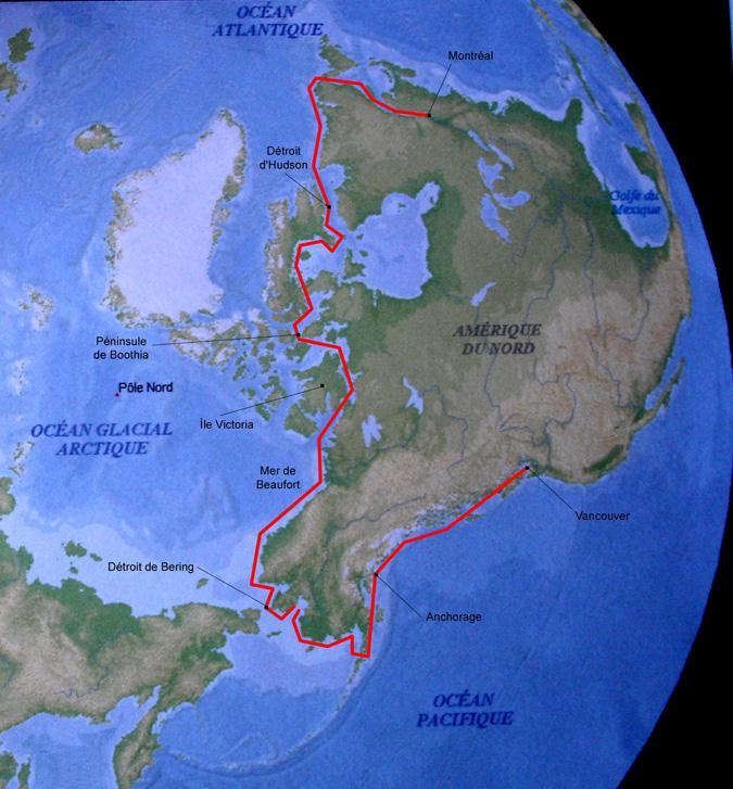 Le Passage de Babouche - carte 2007