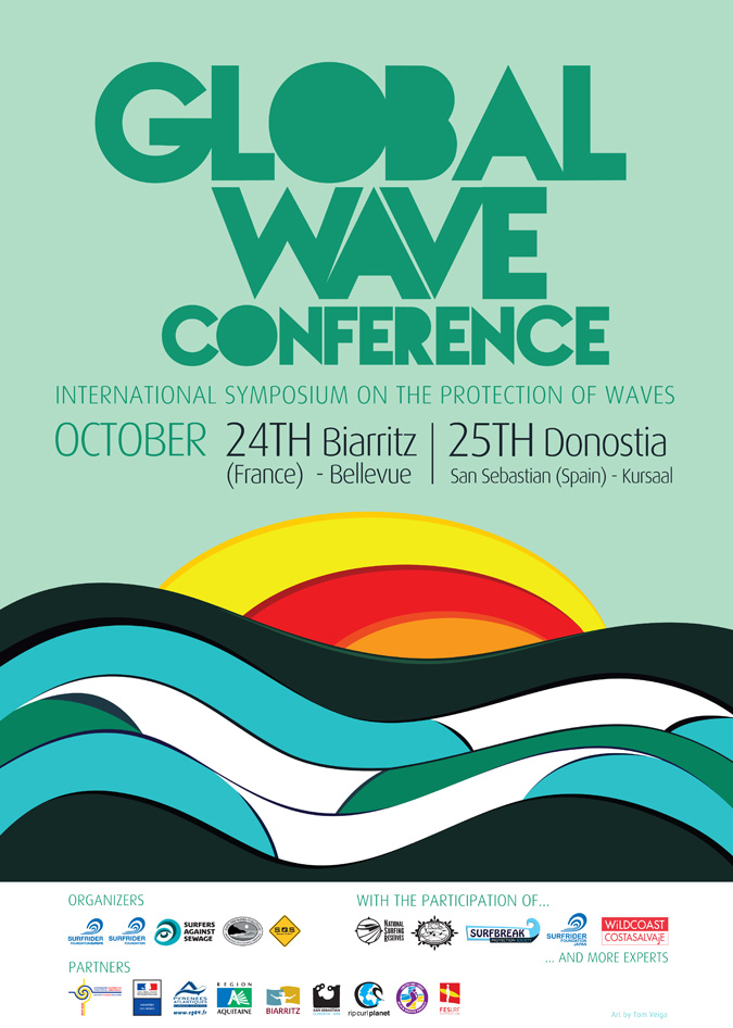 Affiche Global Wave Conference