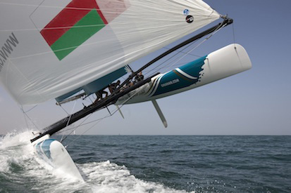 OMAN AIR  6 EXTREME SAILING SERIES Crédit : Mark Lloyd/Oman Sail