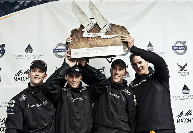 St-Moritz équipage vainqueur , copyright Loris Von Siebenthal
