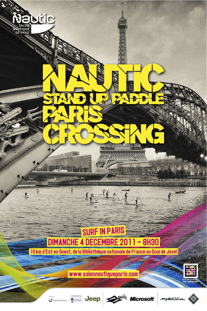 Affiche crossing stand up paddle