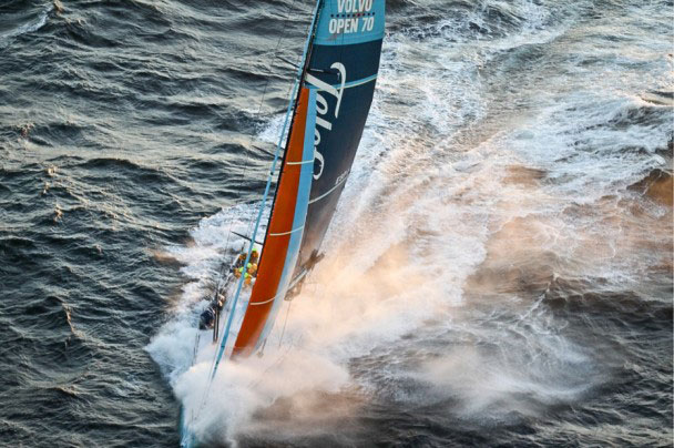 Telefonica vainqueur au Cap -@ Ian Roman- Volvo Ocean Race