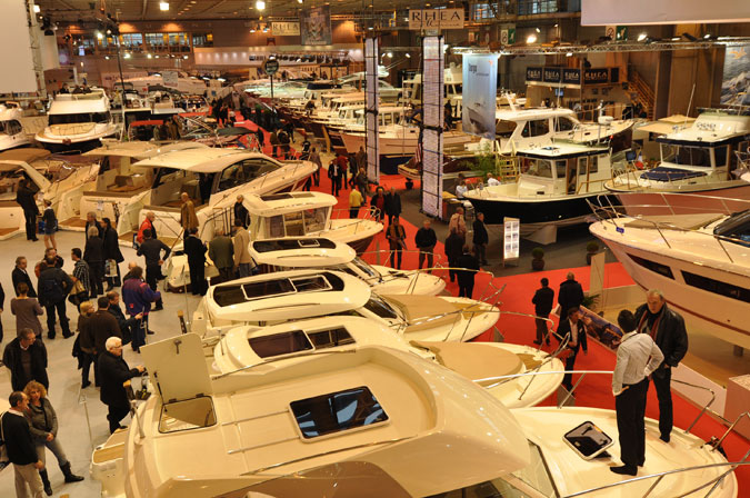 Le nautic paris le premier salon nautique indoor for Salon bateau paris