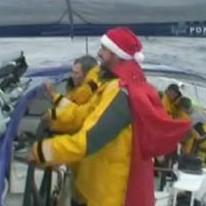 Banque Populaire V Noël en mer