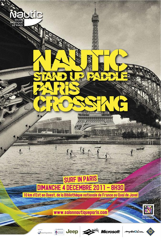 La seconde traversée de Paris en stand up paddle