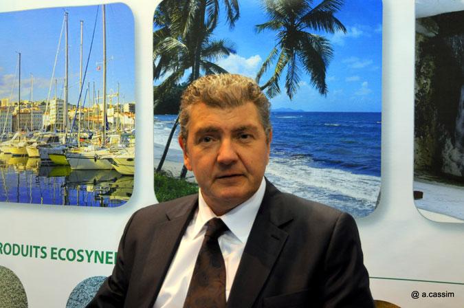 Gilles Bonamy PDG EcoSynergie - cliché A.Cassim