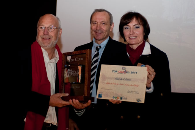 Remise du Trophee du club au Nautic 2011  @Bruno Bouvry