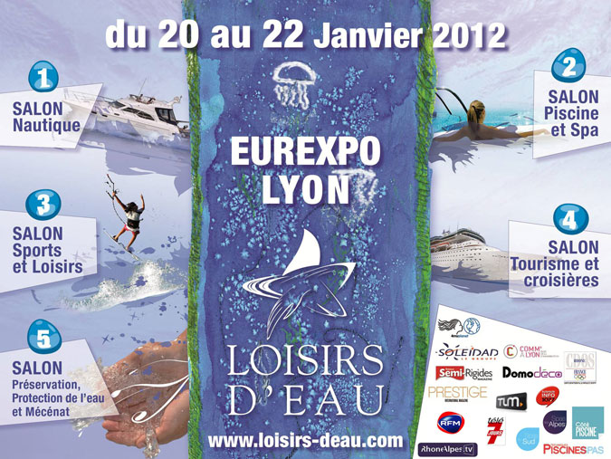 AFFICHE SALON INTERNATIONALLOISIRS D'EAU