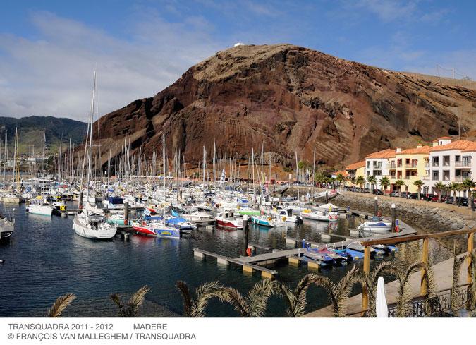 Les bateaux dans la marina de Quinta do Lorde