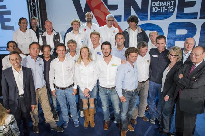 VENDEE GLOBE 2012 -SKIPPERS