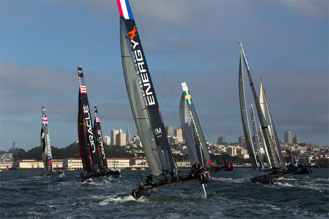 America's cup-SanFrancisco   © ACEA/ Photo Gilles Martin-Raget