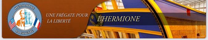 Bandeau de l'Hermione