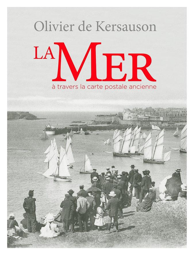 La Mer couverture du livre d'Olivier de Kersauzon