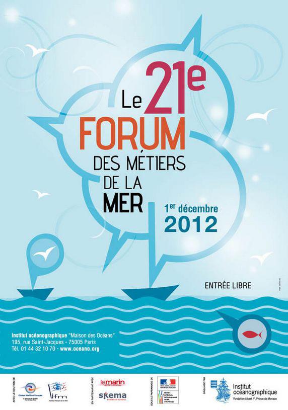 Forum des métiers de la mer