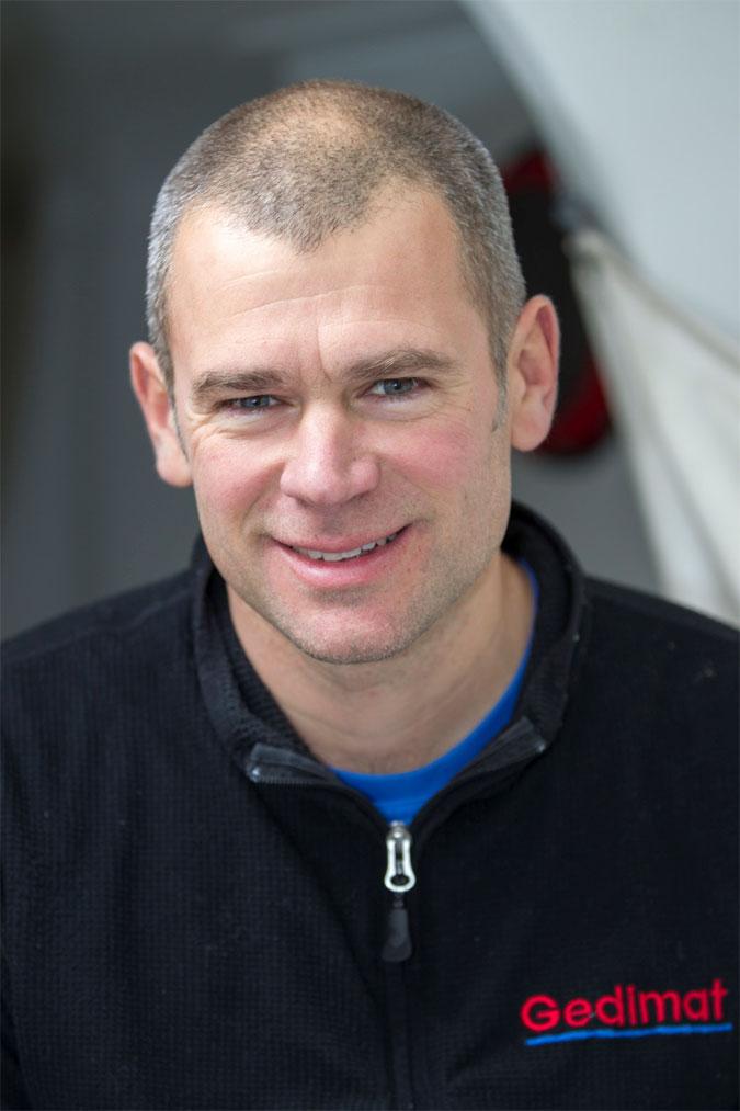 Thierry Chabagny skipper de Gedimat