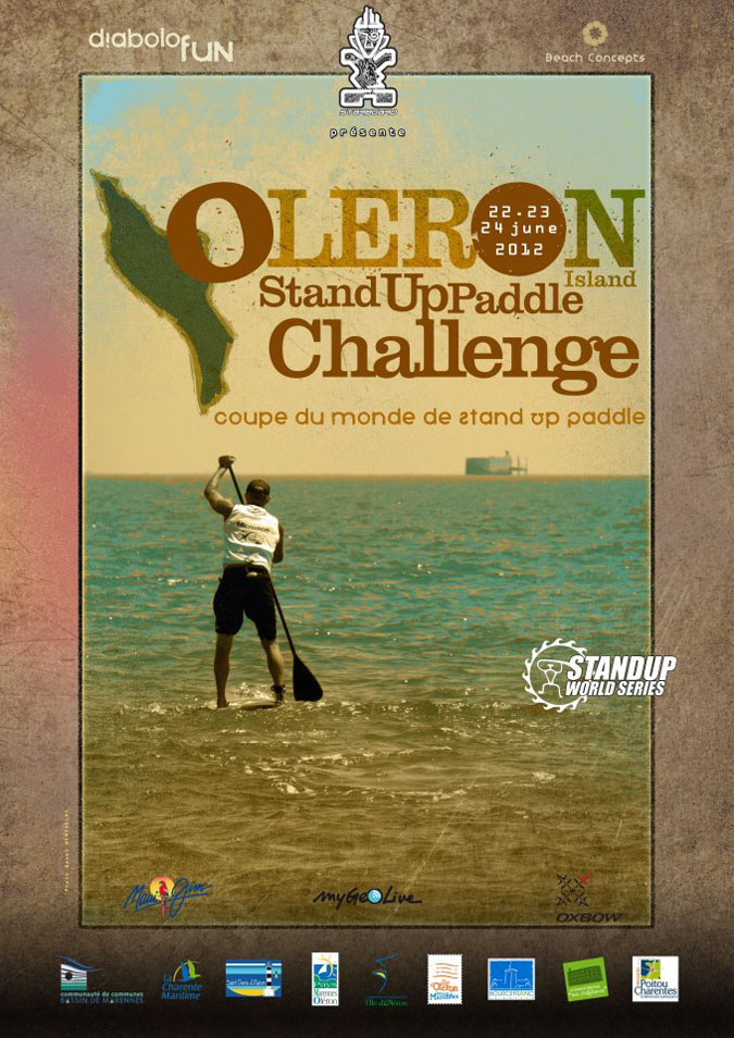Affiche Stand-up-paddle-Oleron