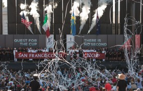 Ouverture America's Cup Photo G Martin Raget