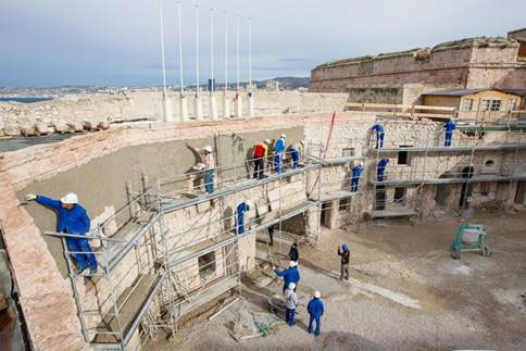 Fort d' Entrecasteaux - restauration