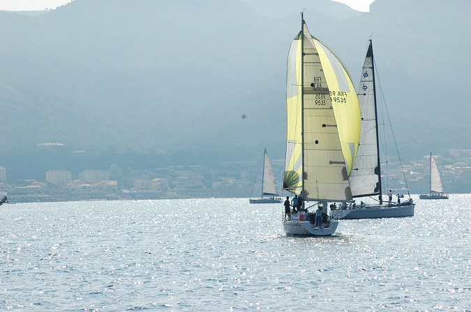 voiliers en Mediterranée Photo AC