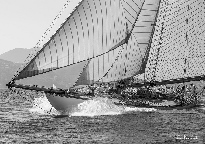 "Regates Royales- Trophée Panerai 2014 "" Mariquita""  Photo James Robinson Taylor"