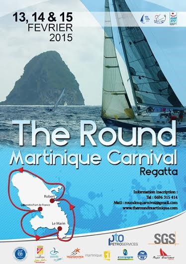 Affiche Round Martinique Regatta