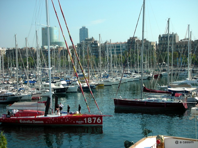 Port Olympique de Barcelone photo A.Cassim