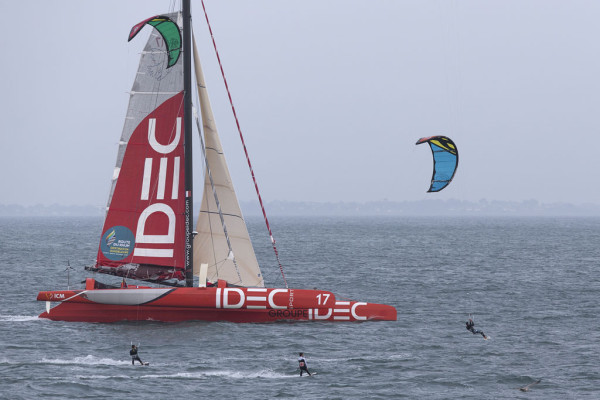 SAILING - ROUTE DU RHUM 2014 - ULTIME - IDEC