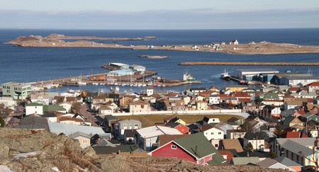 St-P et Miquelon port-commerce-saint-pierre