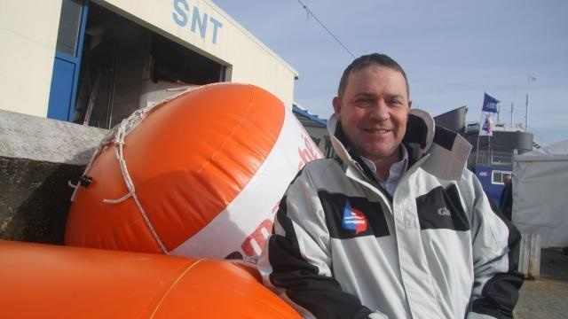 Christophe Gaumont, directeur de course du Spi Ouest-France