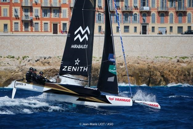 Spindrift  vainqueur du TFV 2015 photo JM Liot